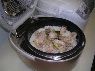 ご飯が炊けた.JPG